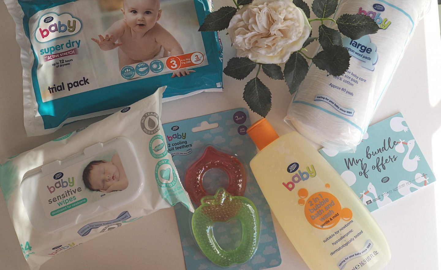 Boots My Baby Bundle offer instore, spend £20 on Boots baby, mamasvib