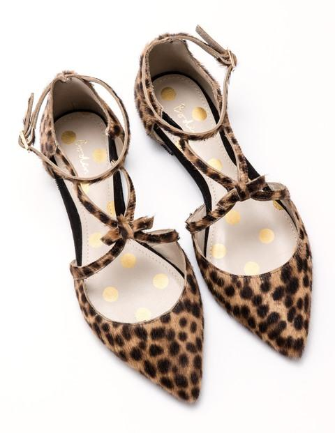 9 key pieces that have saved my wardobe this season, fashion, key pieces, new collection, Boden leopard strappy bow point flat shoes, Boden shoes