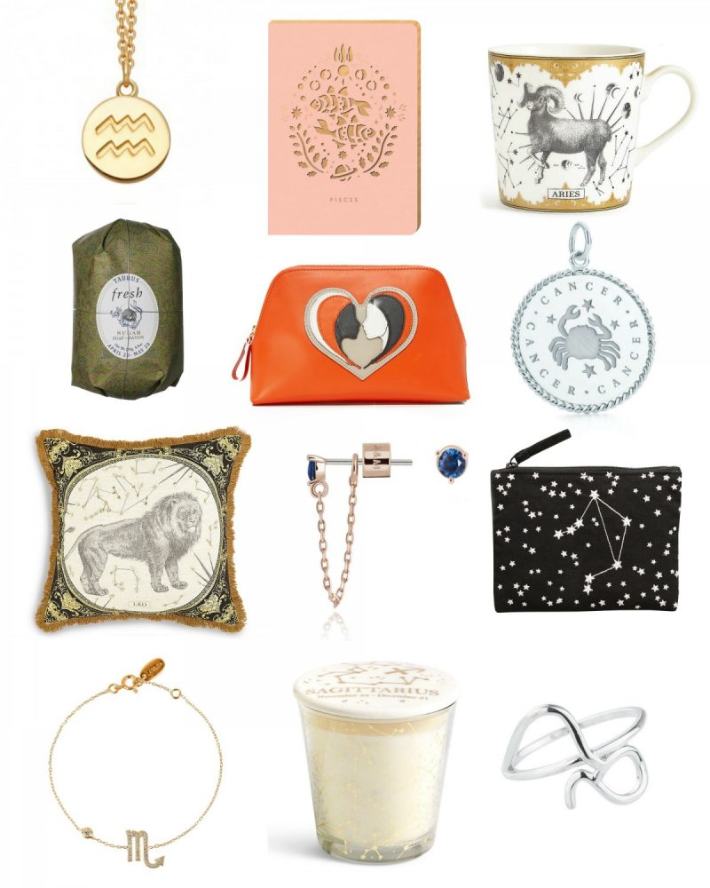 What's your star sign? The perfect zodiac gifts with a fashion twist, Horoscope fashion and beauty buys, zodiac Christmas gifts, stocking fillers for star signs