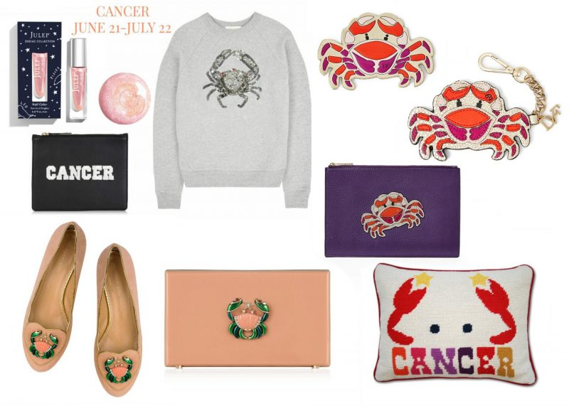 What's your star sign? The perfect zodiac gifts with a fashion twist, Horoscope fashion and beauty buys, Cancer