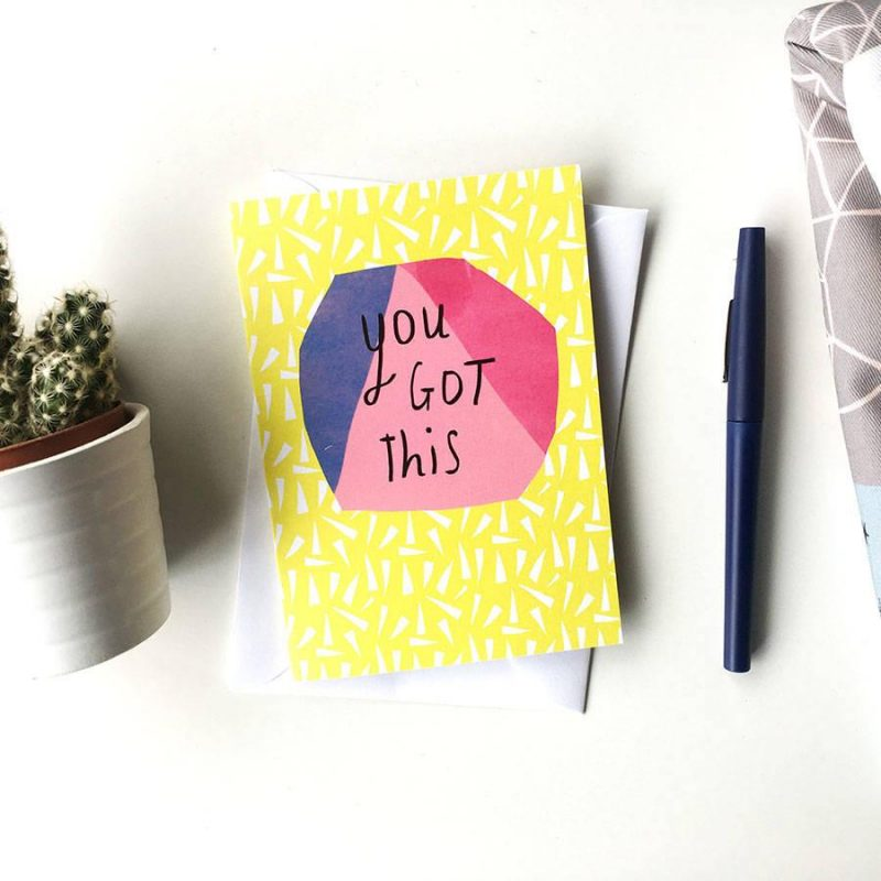 http://www.notonthehighstreet.com/nicolarowlands/product/you-got-this-card
