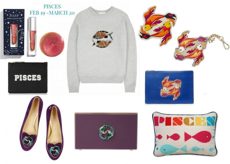 What's your star sign? The perfect zodiac gifts with a fashion twist, Horoscope fashion and beauty buys, Pisces
