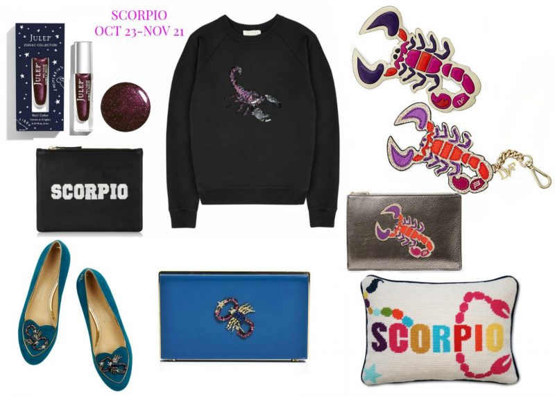 What's your star sign? The perfect zodiac gifts with a fashion twist, Horoscope fashion and beauty buys, Scorpio