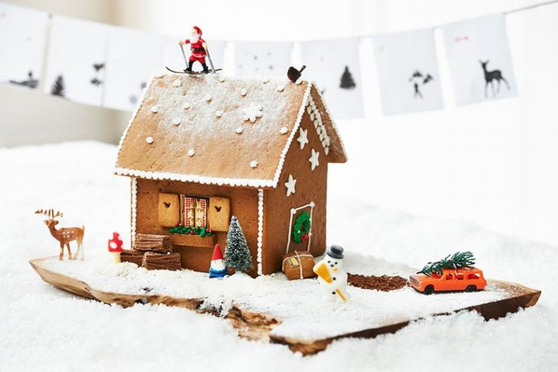 KalenderHaus by Clever Gretel, DIY advent calendar, gingerbread house advent, Scandi-cool, advent, Christmas, mamasvib, mamasmondays