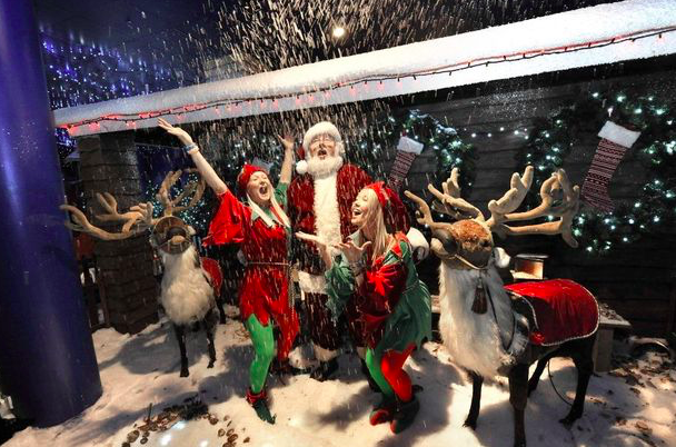 Winter on the Green, Parsons Green, Big Fish Little Fish, family rave events, London days out, what to do in London, London events for kids, December kids events, Christmas dats out, Big fish raves, Selfridges