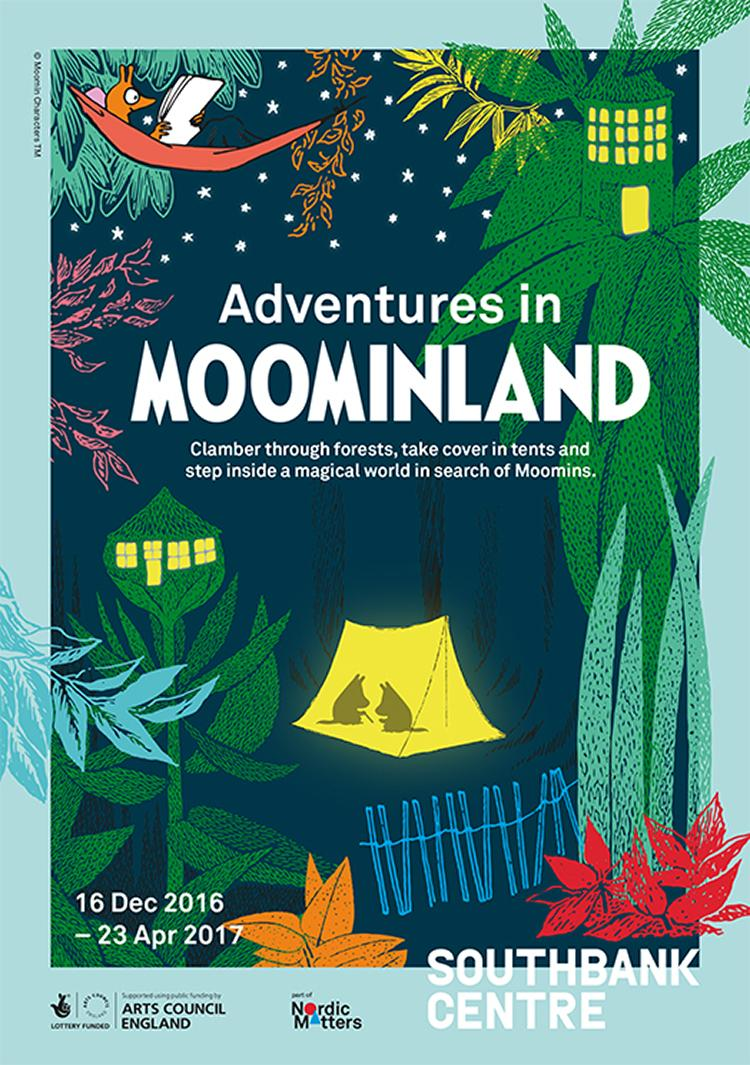 Adventures in MoominLand at The Southbank London, great kids days out, what to do with the kids this December, London kids days out, days out, London Southbank, Exhibition