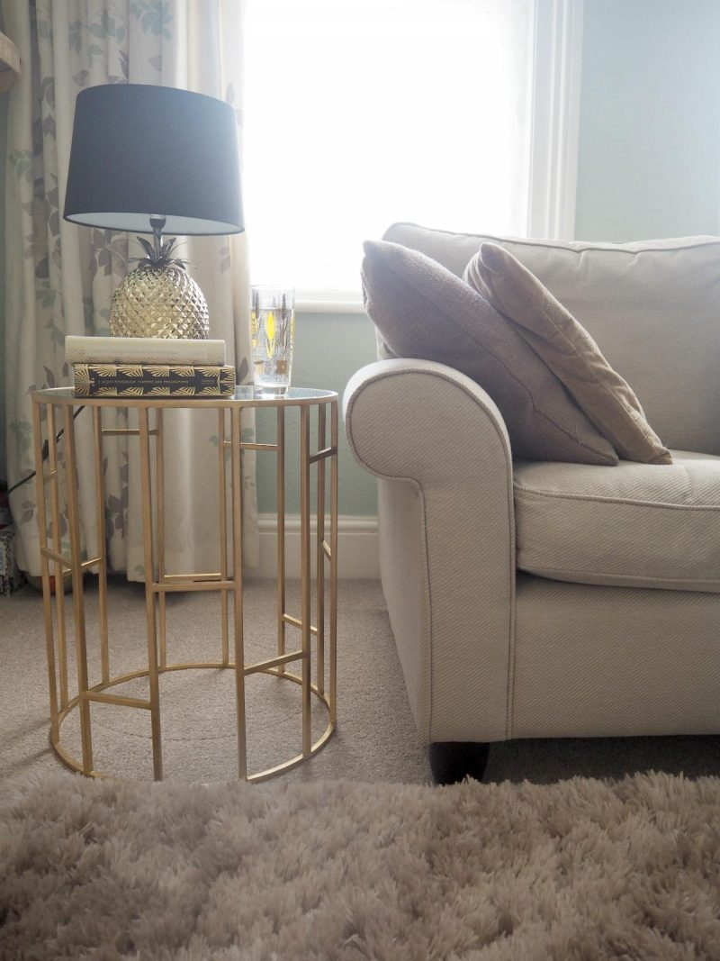 wayfair side table styling, mamasvib, home and interiors, golden touch, Art Deco, side table styling, wayfair featured blogger