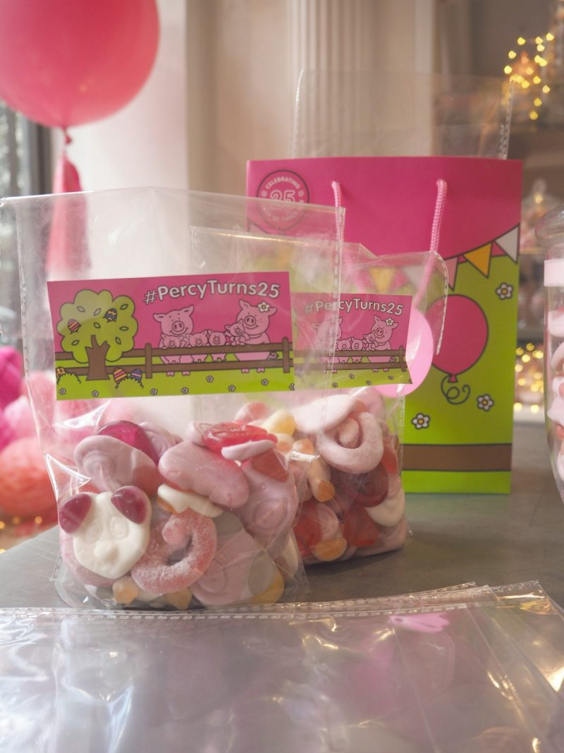 mamasvib, mamamondays, press event, Percy pig, Percy pig turns 25, Percy pig dinner, Percy pig birthday, Marks & Spencer, blogger, freelance editor, bonita turner,