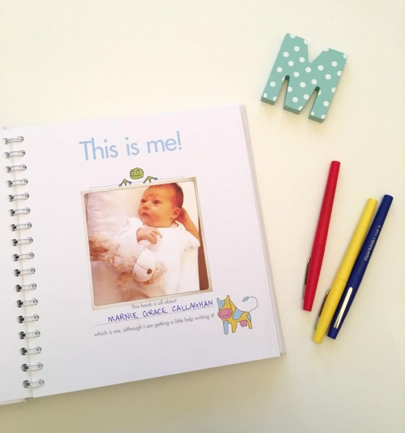 My Best Book About Me - the most stylish baby book around, Fill & Tell