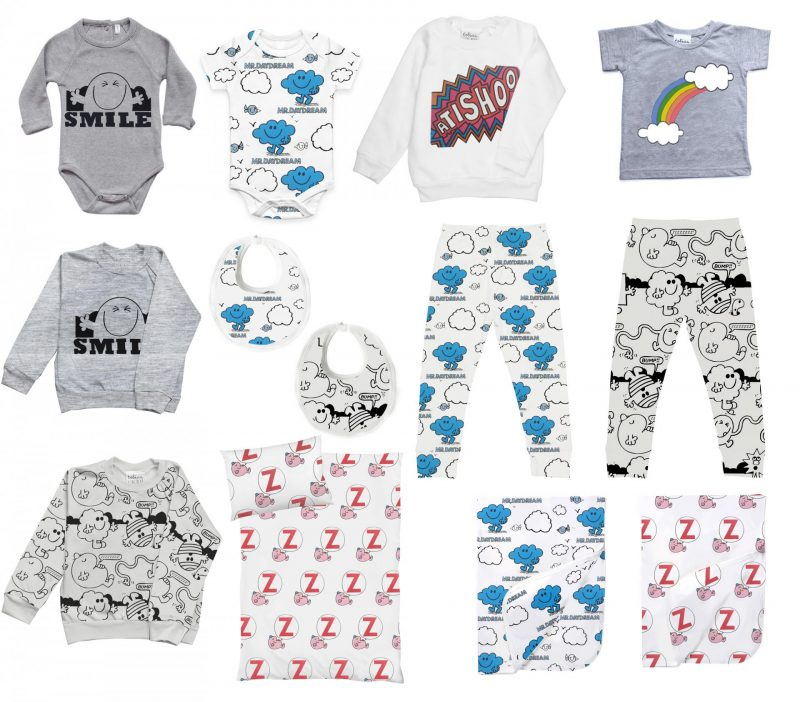 New kids fashion collaborations Tobias and the Bear and Mr men Little Miss