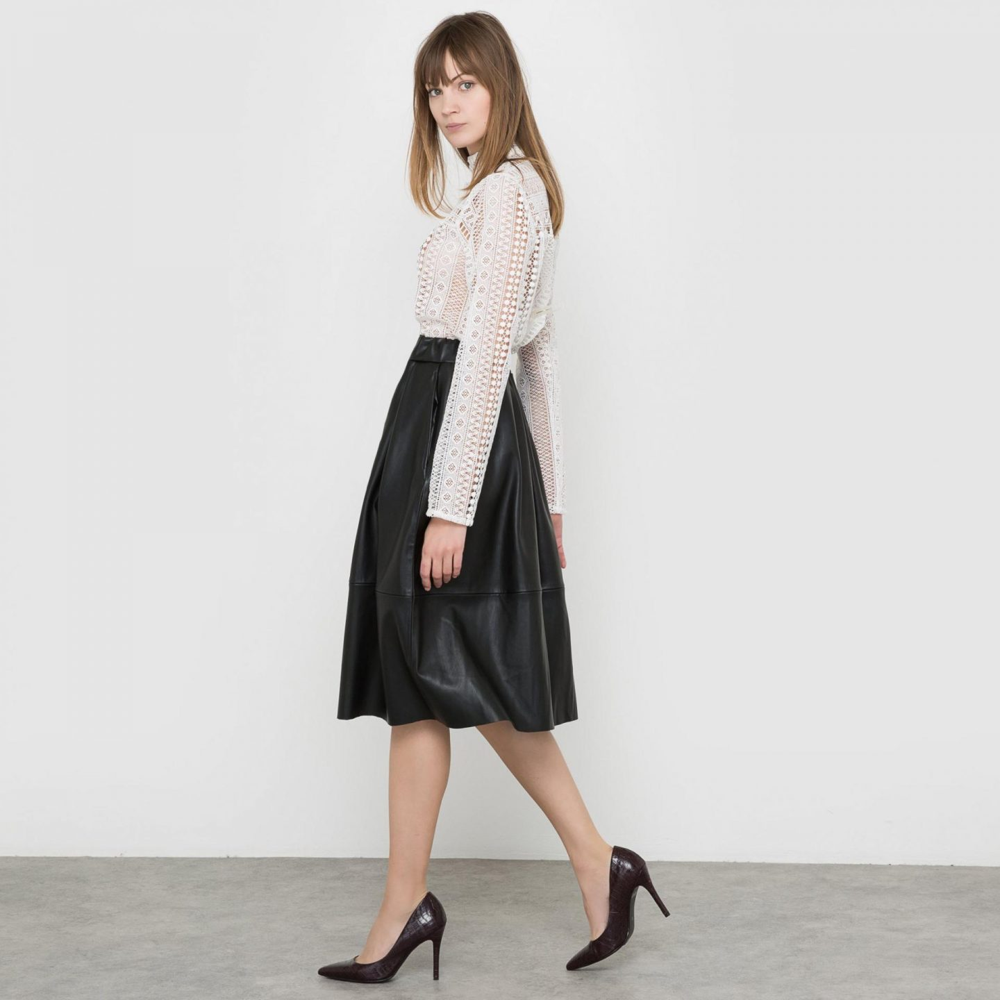 9 key pieces that have saved my wardobe this season, fashion, key pieces, new collection, La redoute leather skirt