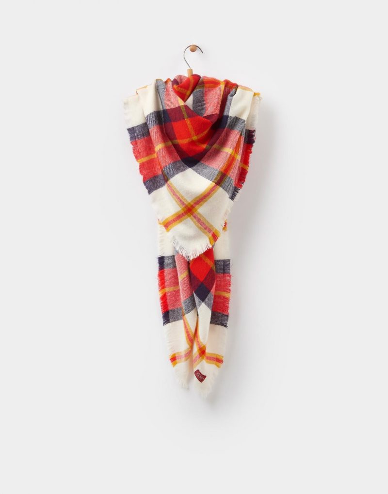9 key pieces that have saved my wardobe this season, fashion, key pieces, new collection, Heywood scarf, Joules scarf, Heywood scarf from Joules