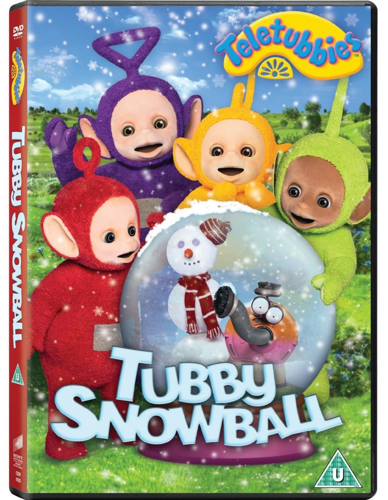 Teletubbies, tubby Snowball DVD, compettion with mamasVIb, DVD giveaway, Teletubbies