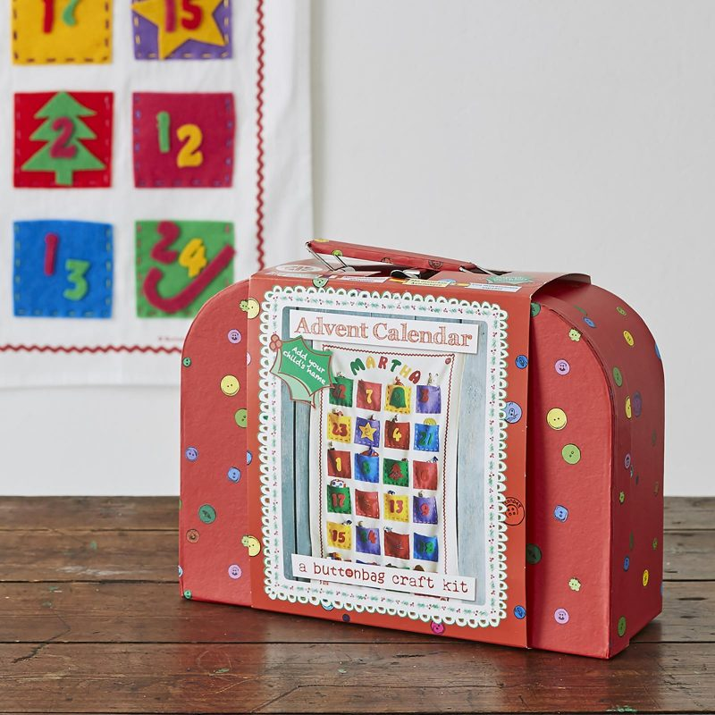 Buttonbag Advent Calendar craft kit, mamasVIB, advent calendar, discount code for Buttonbag