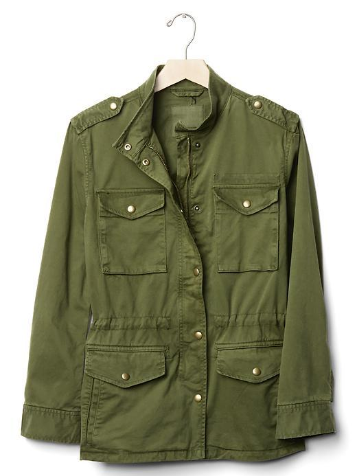 9 key pieces that have saved my wardobe this season, fashion, key pieces, new collection, Gap khaki jacket, army jacket