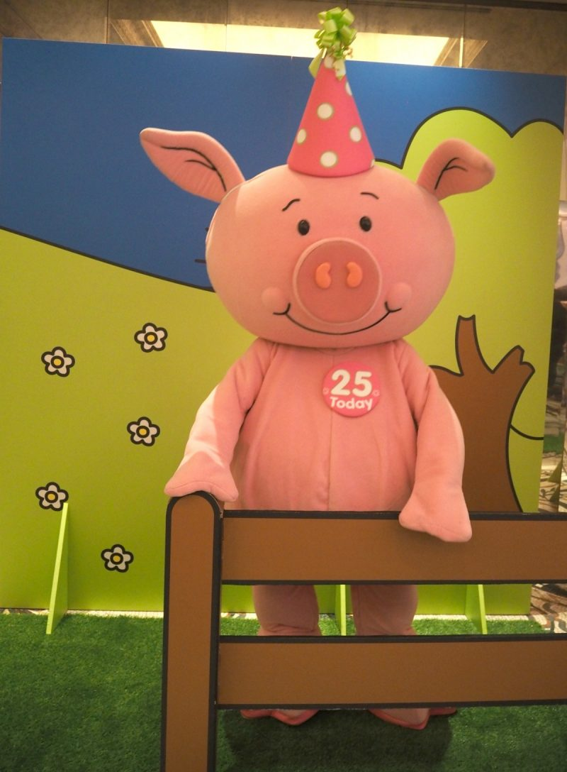 mamasvib, mamamondays, press event, Percy pig, Percy pig turns 25, Percy pig dinner, Percy pig birthday, Marks & Spencer, blogger, freelance editor, bonita turner,